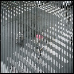 © Isabel M. Martínez. Crosswalk (de la serie Quantum Blink) 2011 Impresión Cromogénica
