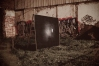 INTEMPERIE 2012- Detalle de intervención urbana en sitio eriazo y detalle de impresión fotográfica de gran formato