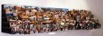 ESPACIO EN CONSTRUCCIÓN 2011. Collage tridimensional de fotografías de México 300cm x 60 cm x 60 cm. Colección permanente centro de las artes de San Luis Potosí